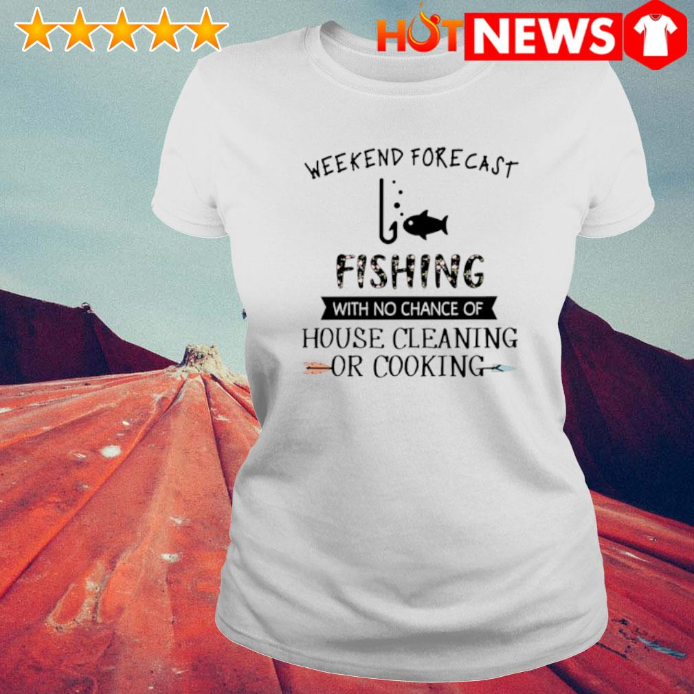 Weekend forecast fishing with no chance of house cleaning or cooking s 6 HNT Ladie White