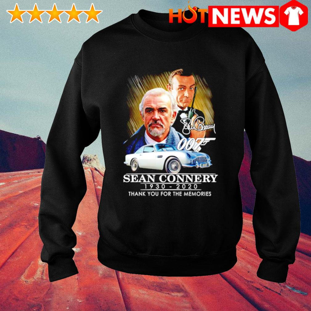007 Sean Connery 1930 2020 thank you for the memories s sweater