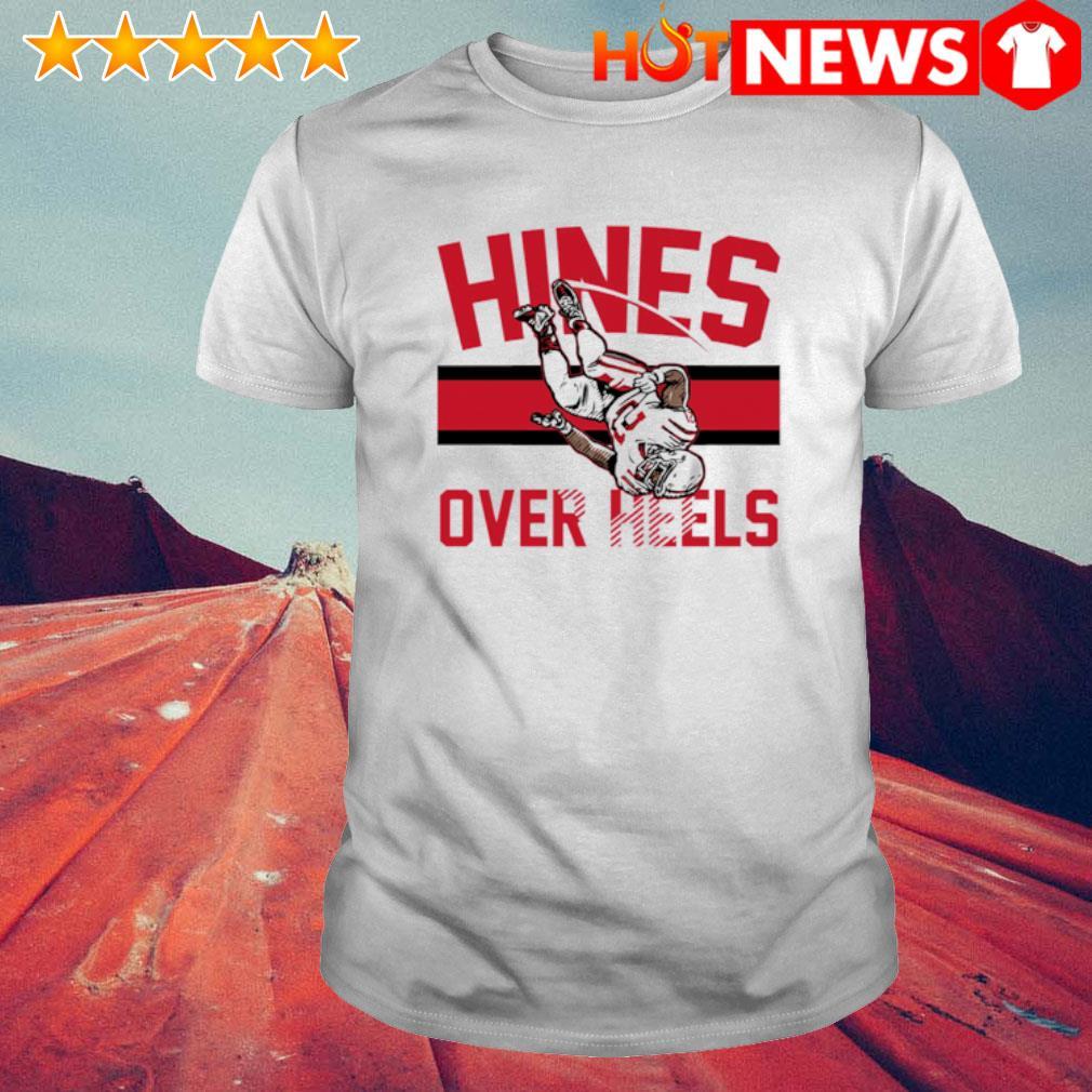 Nyheim Hines over heels shirt