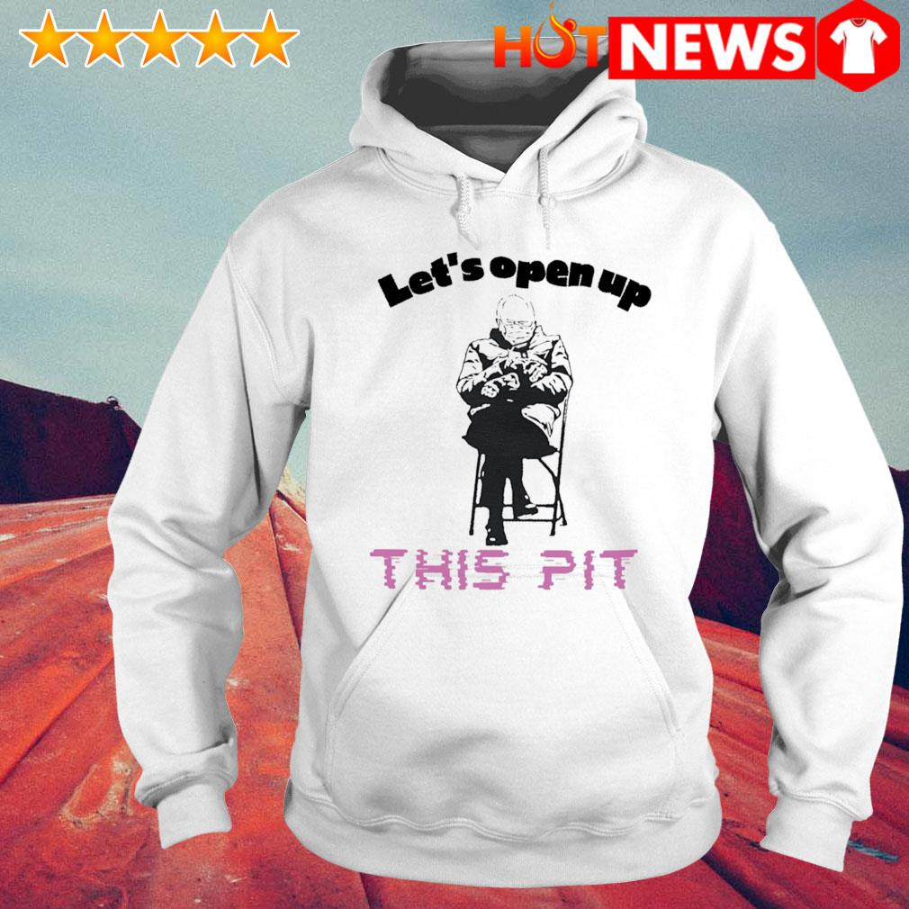 Let's open up this pit Bernie Sanders s 6 HNT Hoodie White