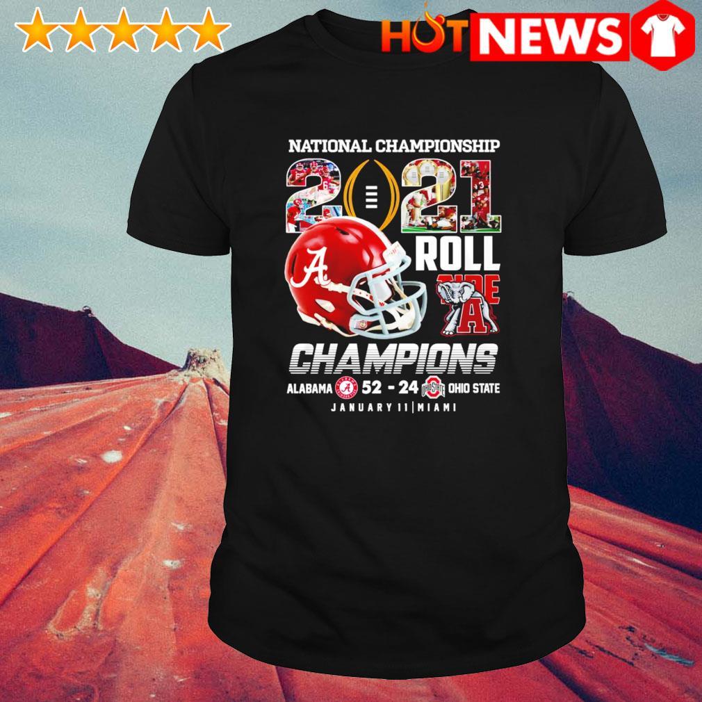 National Championship 2021 Roll Tide champions Alabama vs Ohio shirt