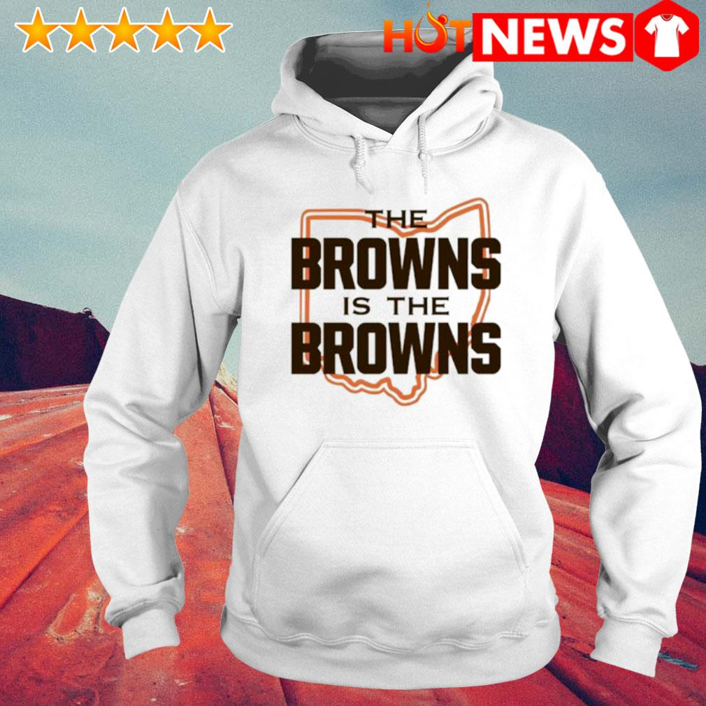 The Browns is The Browns AFC North division champions Cleveland Browns s 6 HNT Hoodie White