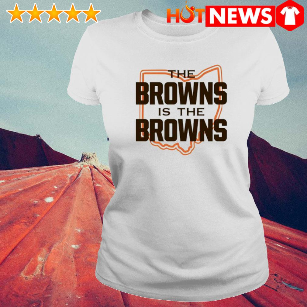The Browns is The Browns AFC North division champions Cleveland Browns s 6 HNT Ladie White