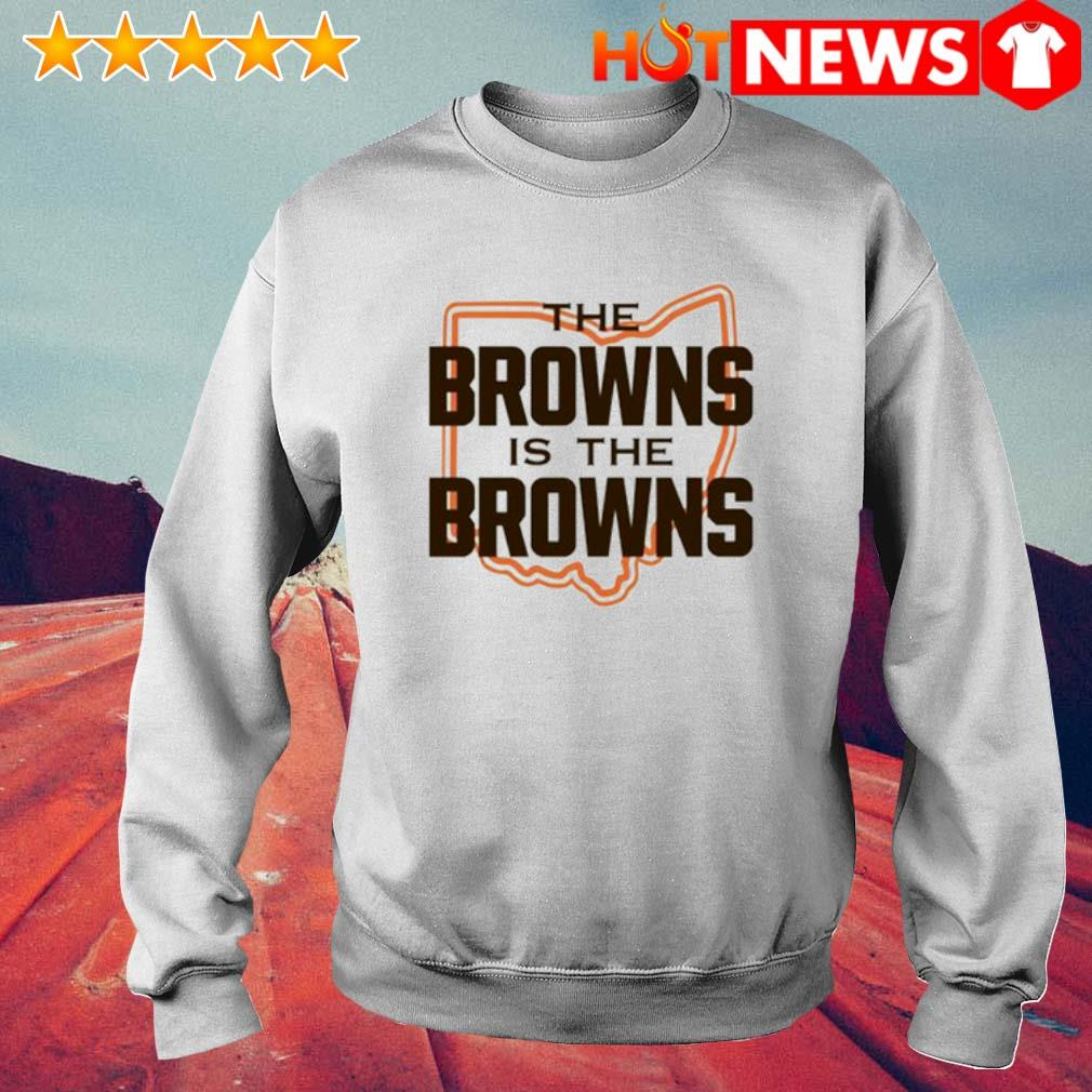 The Browns is The Browns AFC North division champions Cleveland Browns s 6 HNT Sweat White