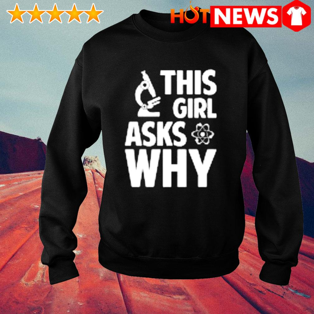 This girl asks why s sweater